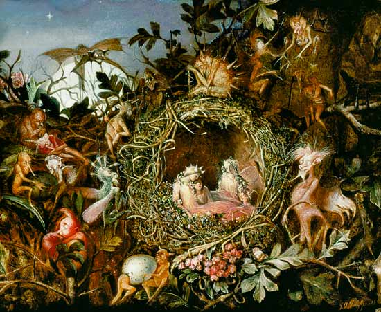 fairies-in-a-bird's-nest