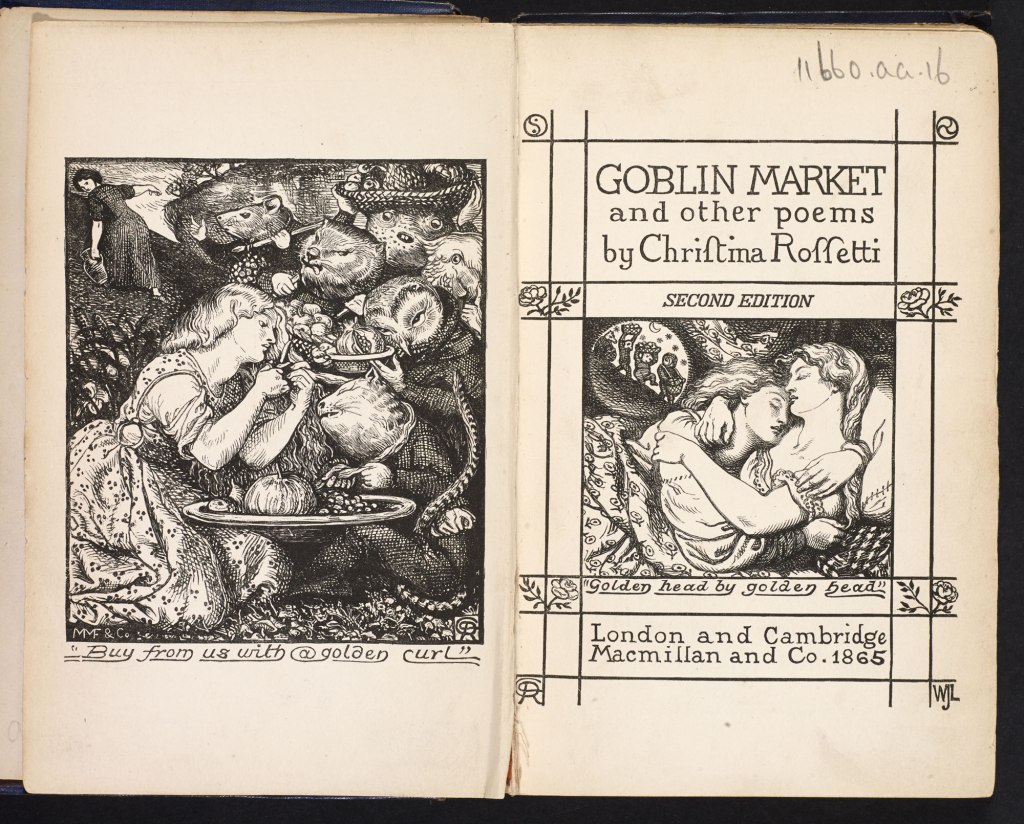 goblin market essay Teaching goblin market the goblin market lesson plan contains a variety of teaching materials that cater to all learning styles inside you'll find 30 daily lessons, 20 fun activities, 180 multiple choice questions, 60 short essay questions, 20 essay questions, quizzes/homework assignments, tests, and more.
