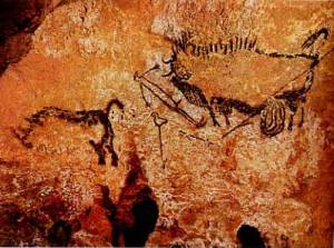 Bird Headed Shaman Lascaux