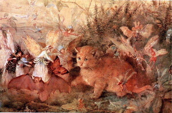 fairyroom_John-Anster-Fitzgerald_Cat-Among-the-Fairies