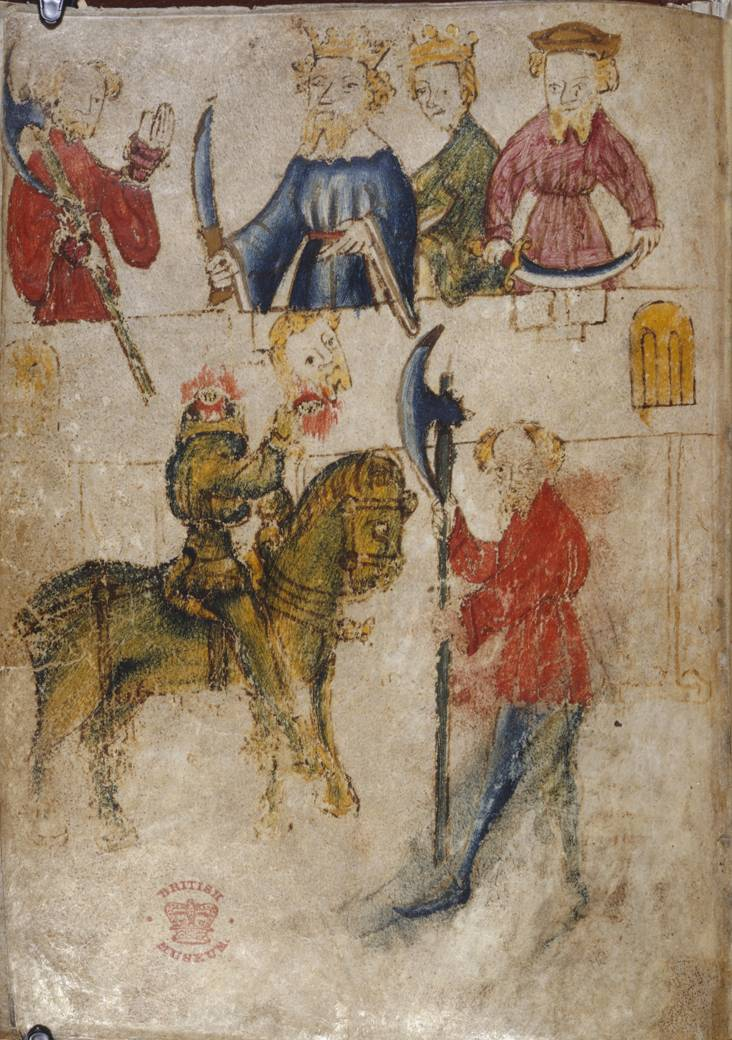Sir Gawain and the Green Knight: A Metaphysical Journey